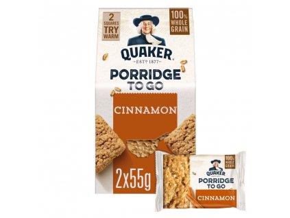Quaker Porridge Cinnamon 110g
