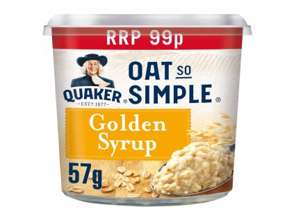 Quaker Oat So Simple Golden Syrup 57g