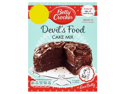 Betty Crocker Devils Food Cake 425g