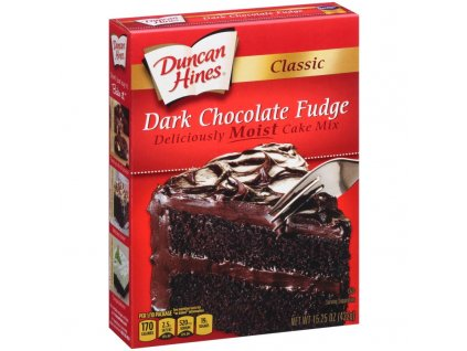 Classic Dark Chocolate Fudge Cake Mix 800x800