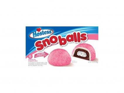 Hostess Pink Snowball Coconut Marsmallows 298g