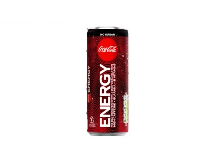 Coca Cola Energy zero sugar lead