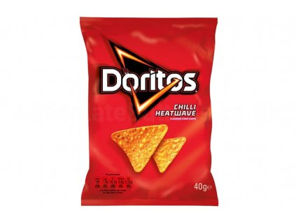 doritos chilli heatwave flavour corn chips 40g 100641