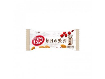 kitkat almond and cranberry luxury edition 1 bar