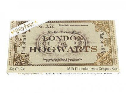 Harry Potter Ticket to Hogwarts Milok Chocolate 42g z1