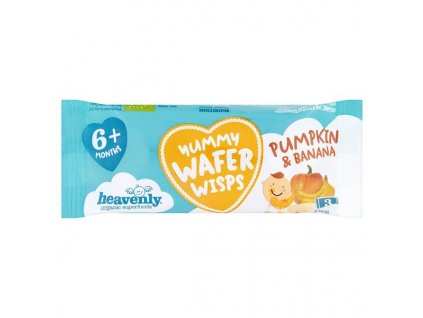 Heavenly Org Wafer Wisps Pumpkin & Banana 14g