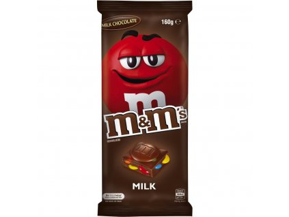 M&ms Block Chocolate 165g