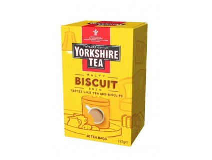 Yorkshire Tea Malty Biscuit Brew Black Tea 40S 112g z1