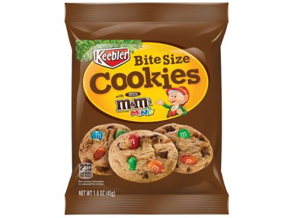keebler bite size cookies with mini mms 45g