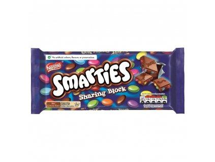 Smarties Milk Chocolate Sharing Bar 100g