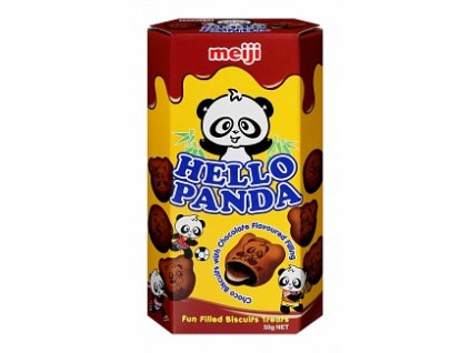 hello panda double chocolate 50g