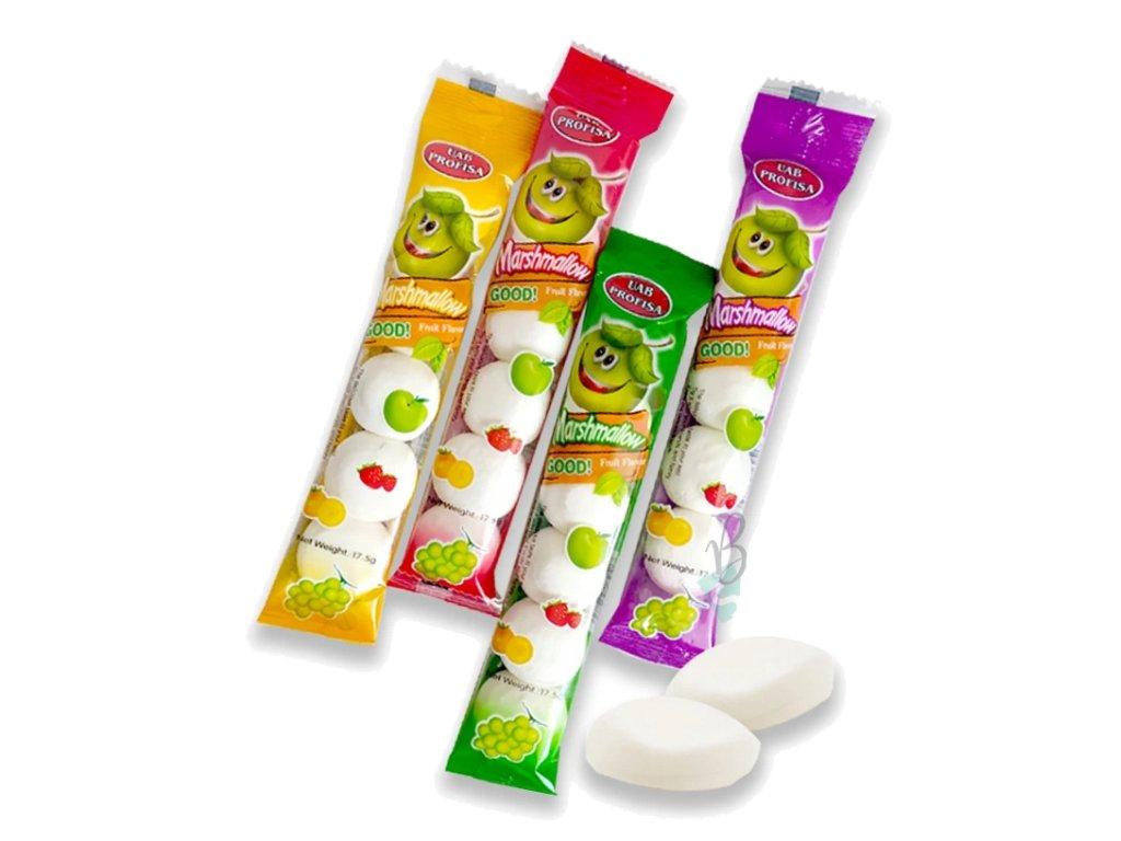 Marshmallow GOOD s ovocnou náplní 17,5g
