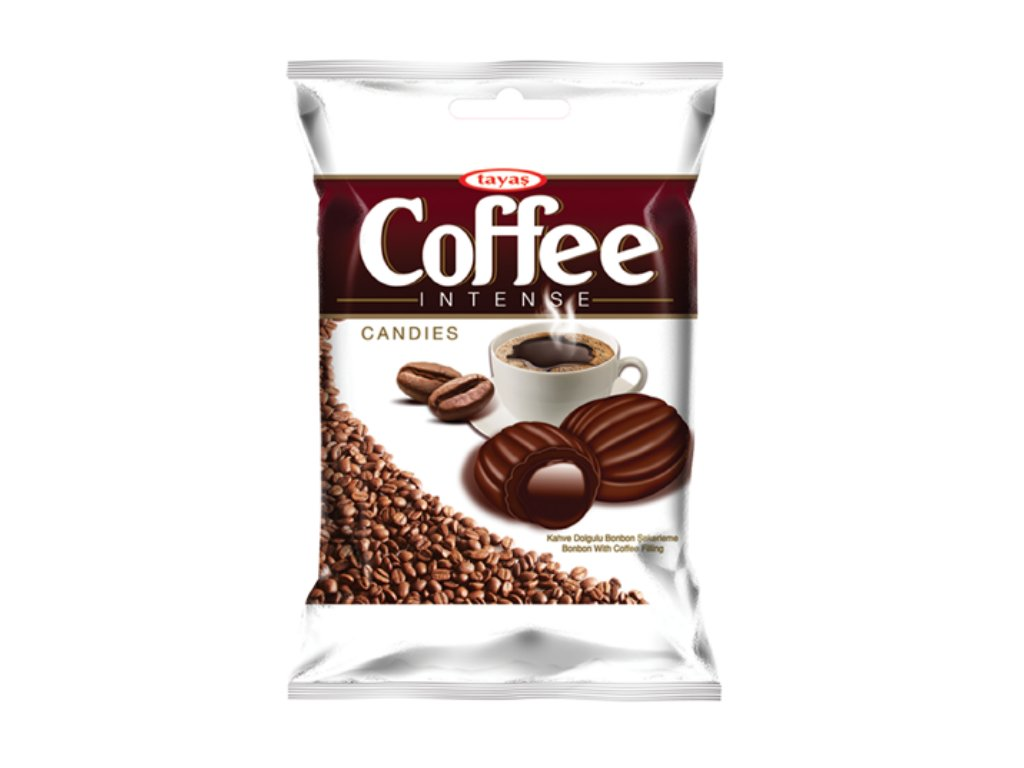 Coffee INTENSE plněné kávové bonbony 90g