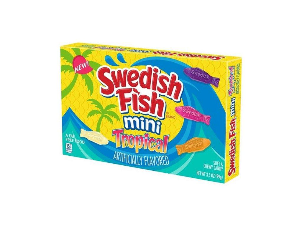 Swedish Fish Mini Tropical 99 g