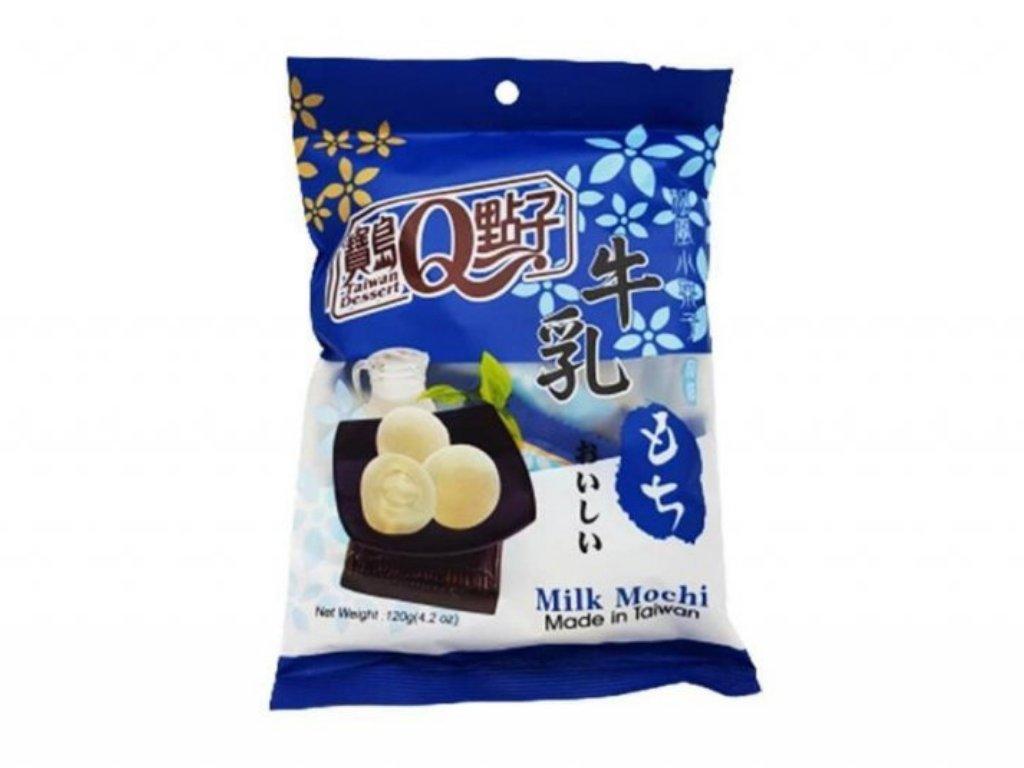 Japonské Mochi Milk Mléčné Individuálně Balené 120g