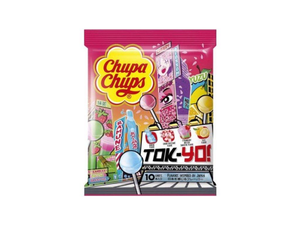 Chupa Chups TOK YO Lízátka 120g (10ks)