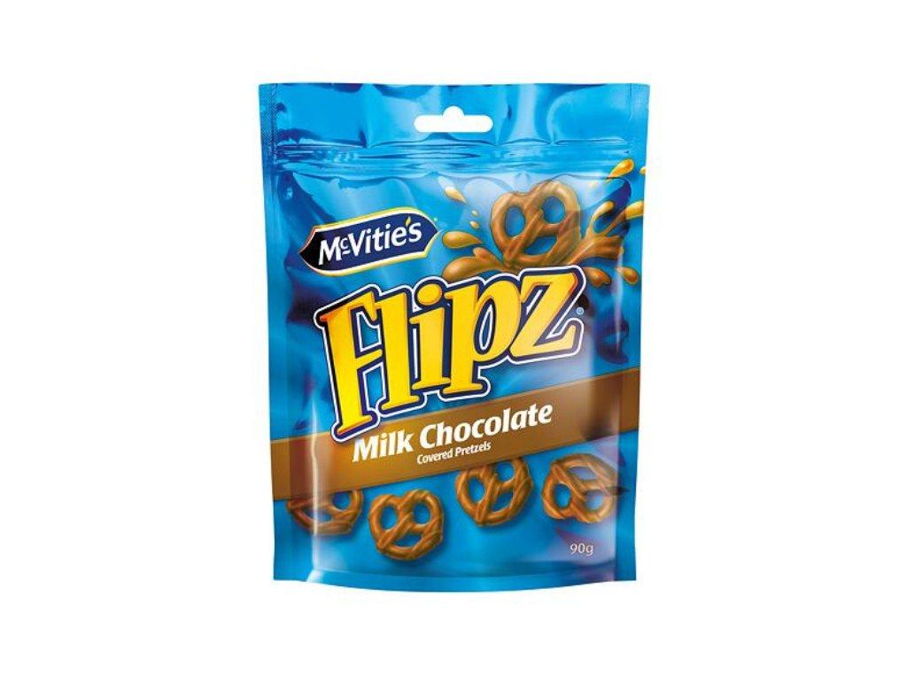 Flipz McVitie's preclíky v mléčné čokoládě 90 g