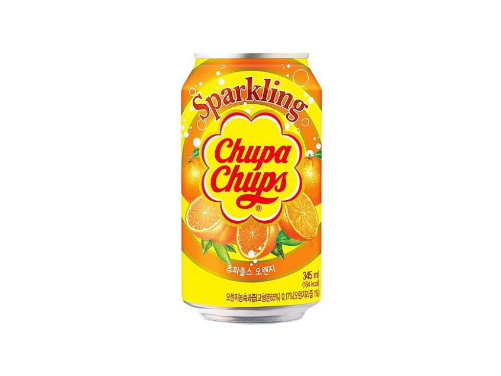Chupa Chups Sparkling Orange Soda 345 ml