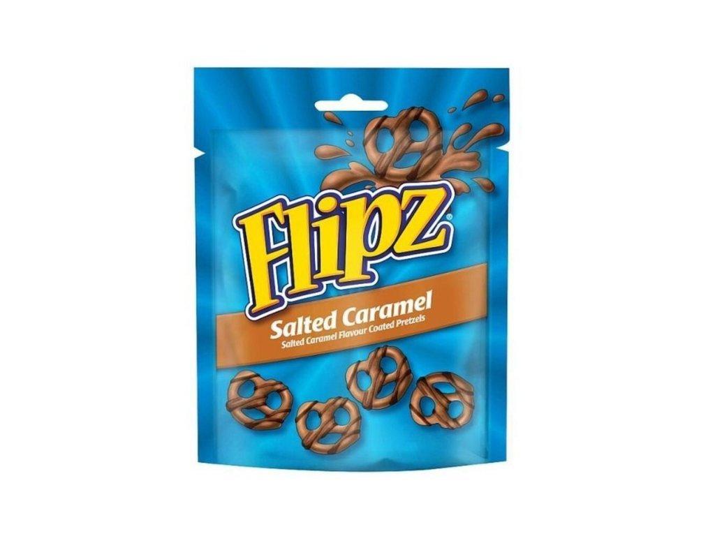 Flipz McVitie's preclíky s příchutí slaného karamelu 90 g