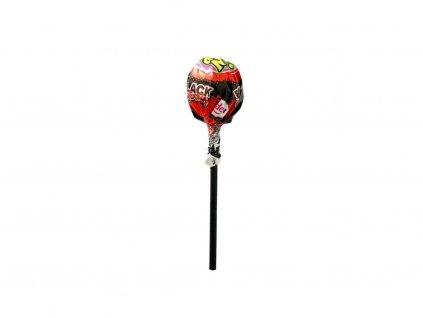 Pin Pop lízátko se žvýkačkou (černá třešeň) 18g