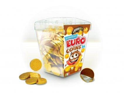 JOHNY BEE EURO čokoládové mince 29mm