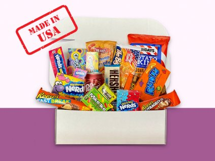 Americky box sladkosti