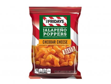TGI FRIDAYS JALAPENO POPPERS CHEDDAR CHEESE BAKED 99.2G