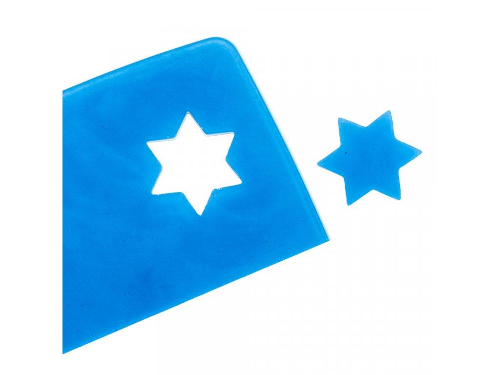 Mýdlové pláty na vykrajování - modrý