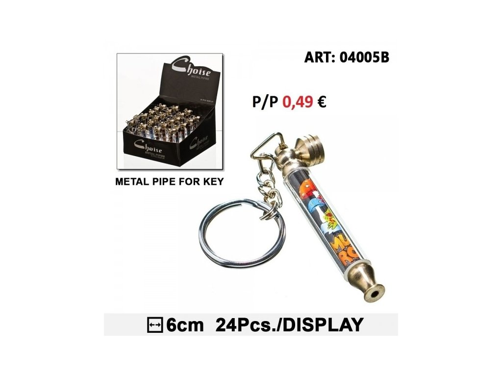 Mini Mushroom Pipe for Key - Choise
