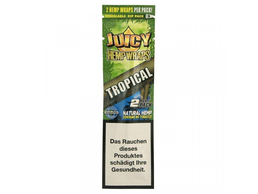 JUICY HEMP BLUNTS ORIGINAL, TROPICAL, 2 KUSY