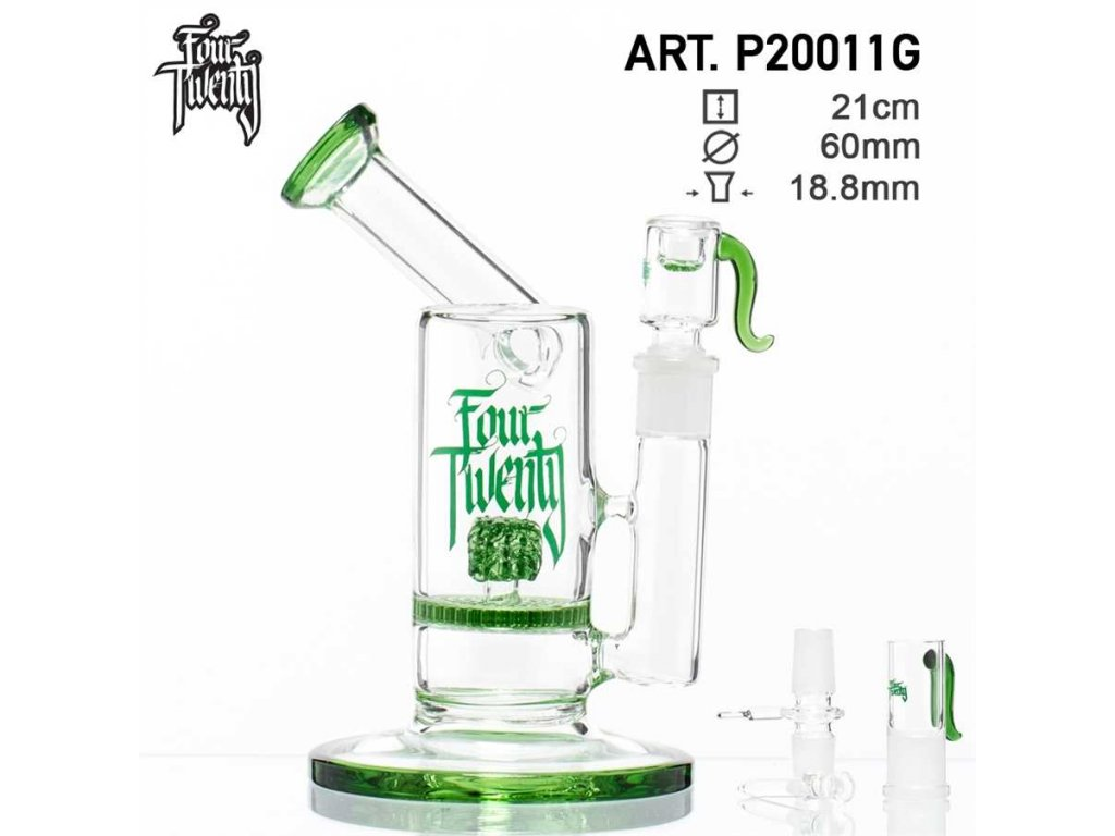 FOURTWENTY SAXO BUBBLER- GREEN-