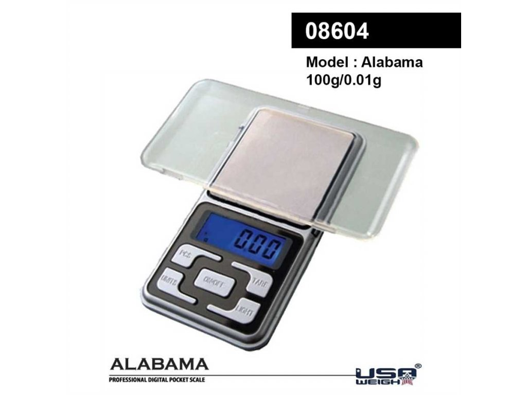 Alabama digital scale 100g - 0.01g