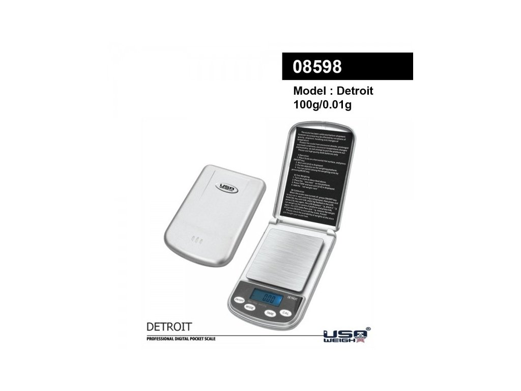 Detroit digital scale 100g - 0.01g