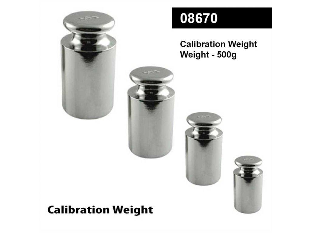 Kalibrační závaží - 500g