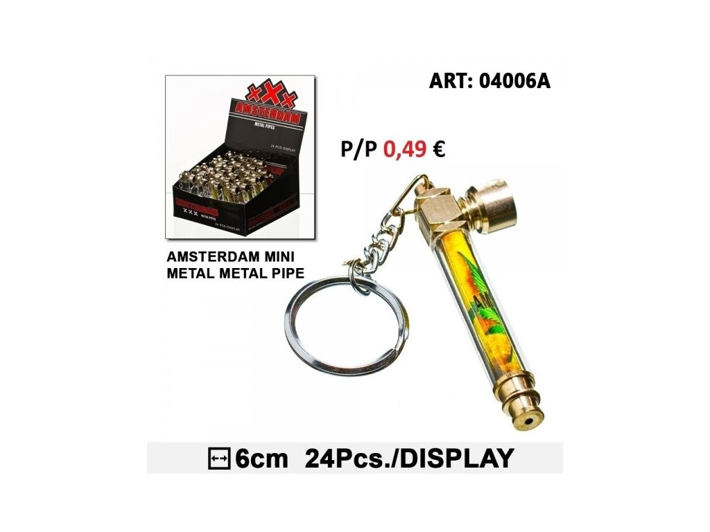 Mini Pipe for Key Amsterdam logo