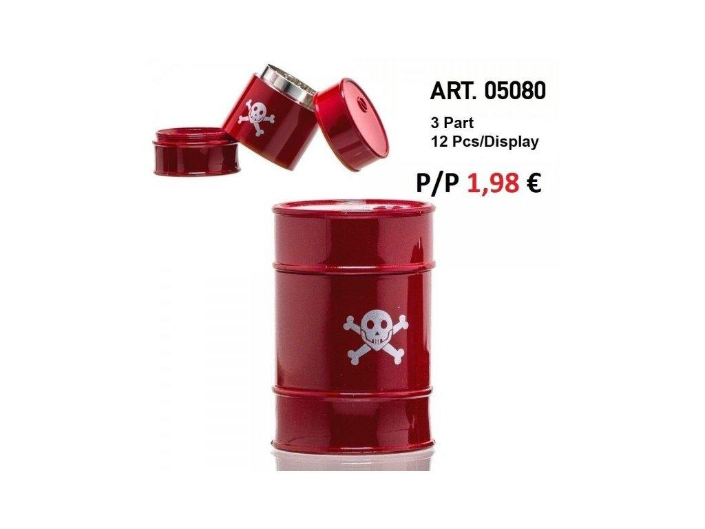 Jerrican Grinders- 3part- Red