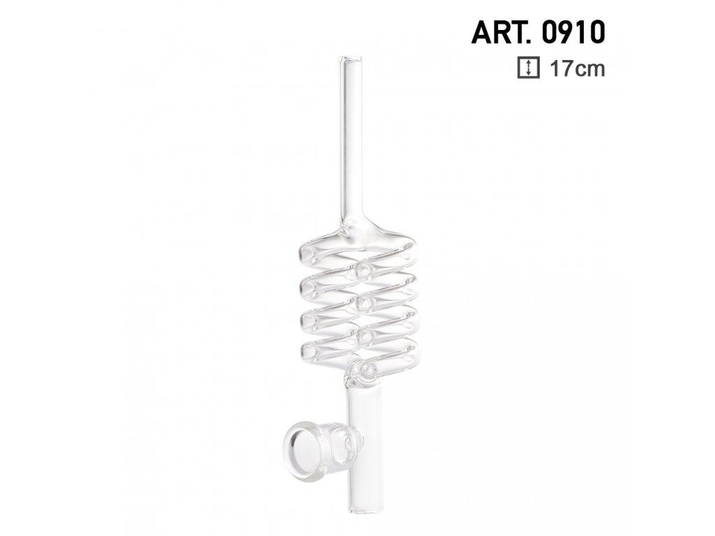 Glass Kawum Spiral L:17cm