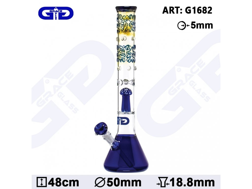 Grace Glass | OG Series | Golden Grip / Blue