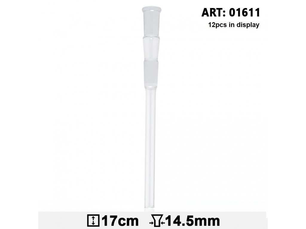 Glass Adapter - SG:14.5mm - L:17cm