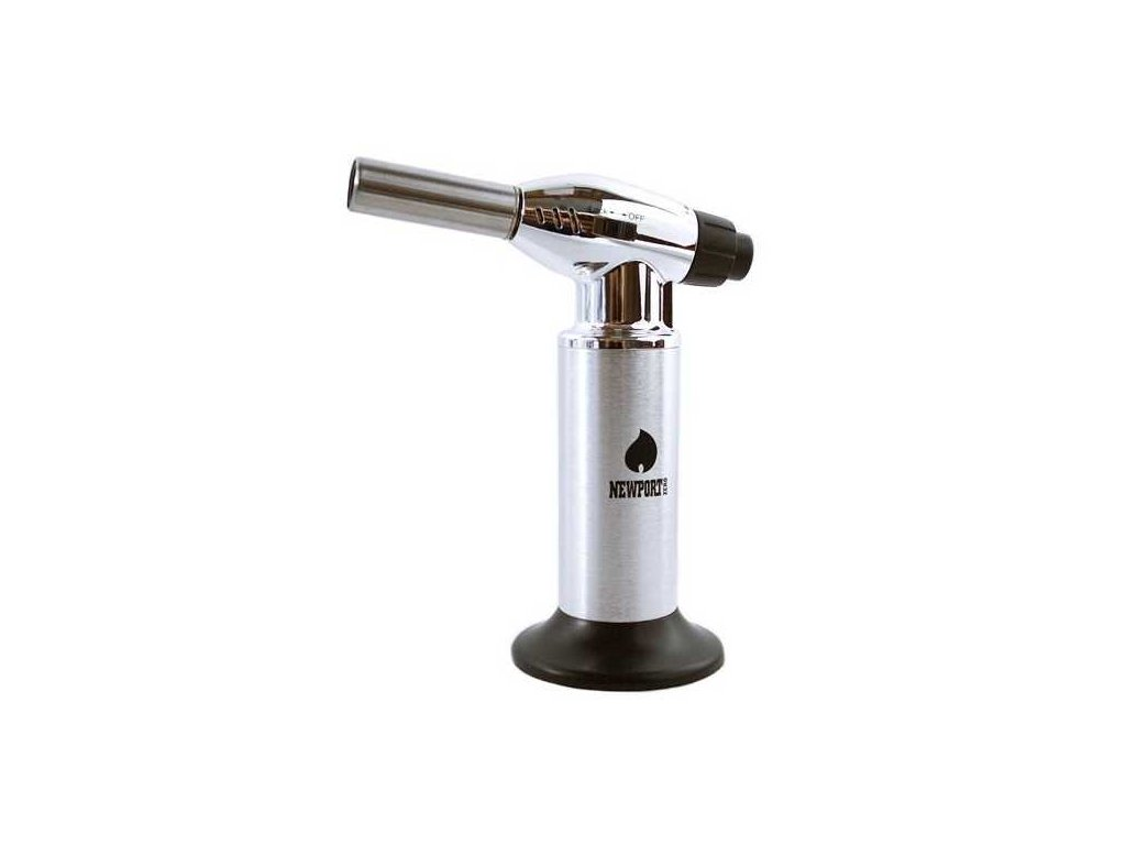 NEWPORT LIGHTER TORCH JUMBO - SILVER