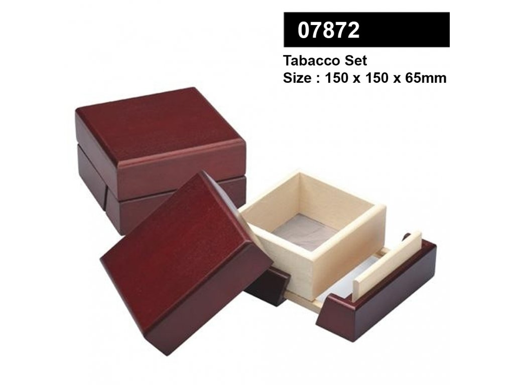 Tobacco set with size 150*150*65mm