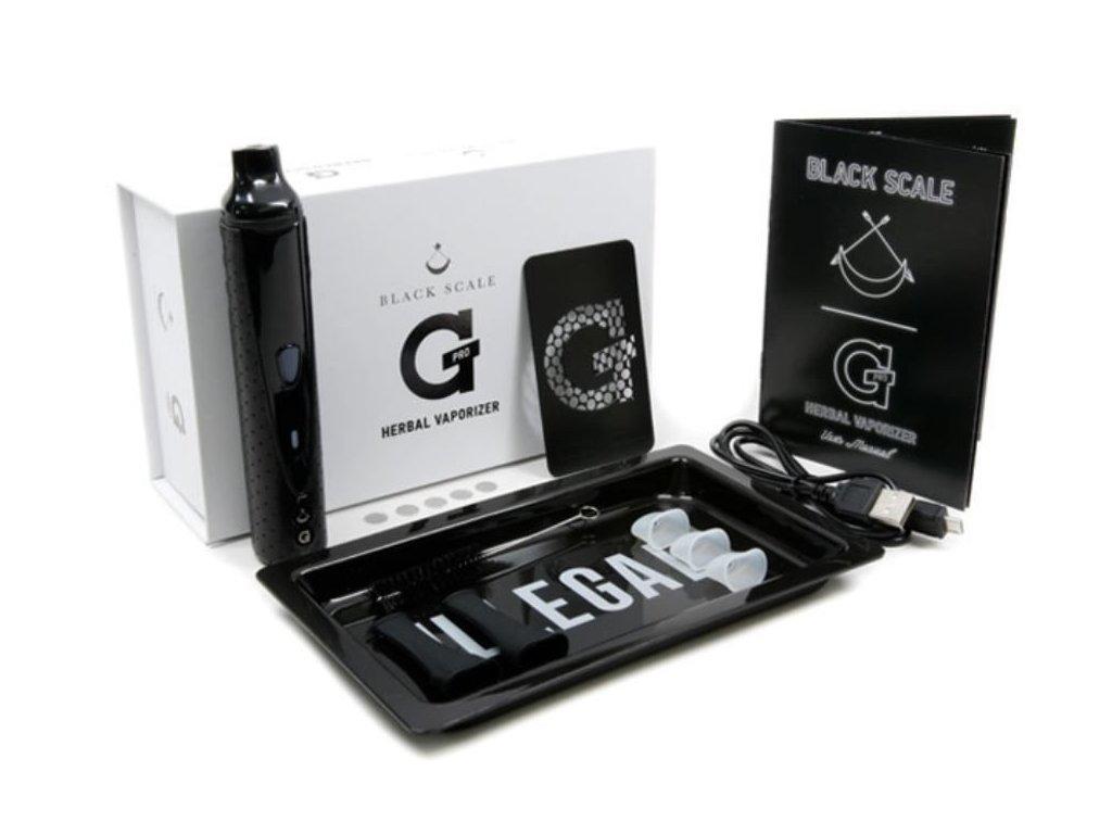 Kapesní vaporizér G Pro Herbal Black Scale
