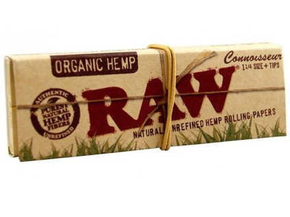 Raw Slim Organic Hemp + Tips