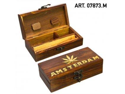 Medium Wooden Amsterdam Tray-15cm x 8cm