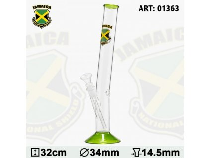 Country Hangover Glass Bong with Jamaica Logo