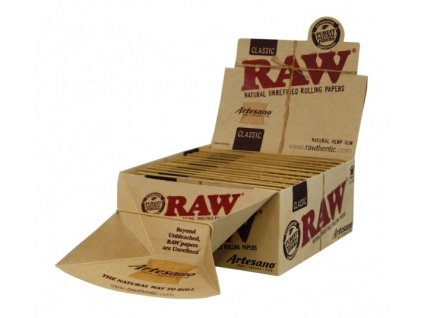 RAW ARTESANO - KS SLIM TIPS BOX