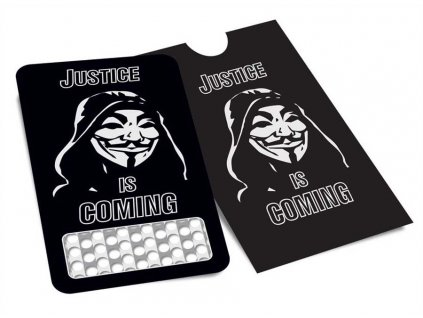 ANONYMOUS GRINDER CARD