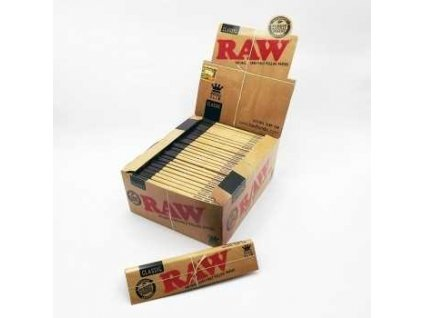 RAW PAPERS KING SIZE STANDARD