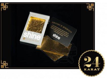 SHINE 24k 2-SHEET PACK 1/4 SIZE