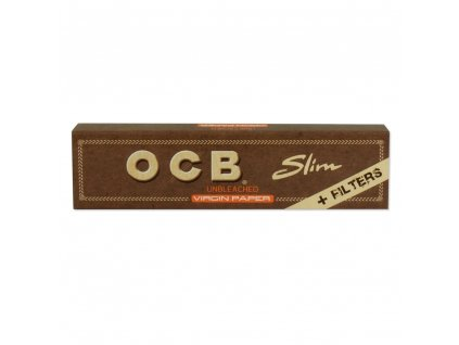 OCB VIRGIN SLIM KING SIZE + FILTERS
